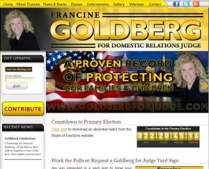 Goldberg for Domestic Relations Judg